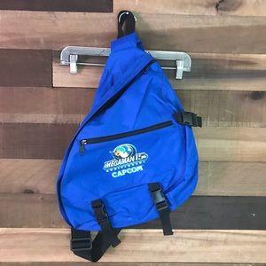 Megaman 15th anniversary single strap backpack